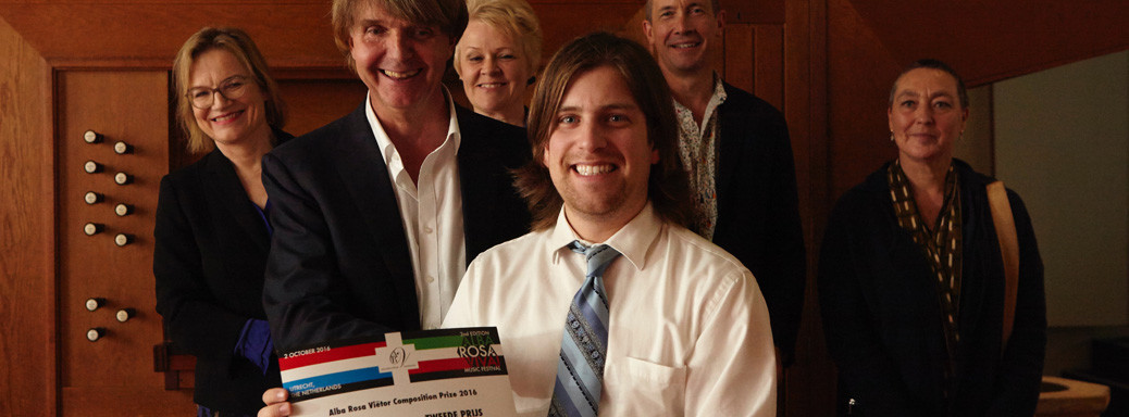 Australiër Jack Frerer (1993) wint Alba Rosa Viëtor Composition Competition 2016