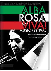 Programmaboek Alba Rosa Viva!